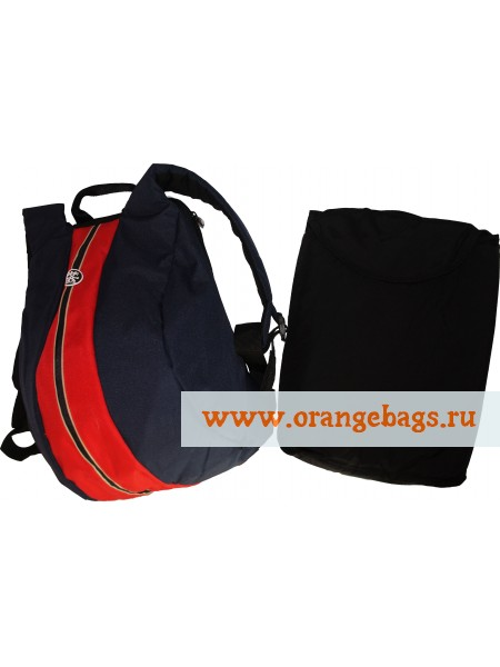 "Рюкзак Рюкзак ""Антивор"" Crumpler «The schrinkle dark blue+red»"